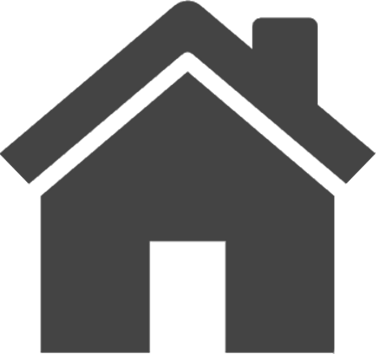A house icon coloured grey